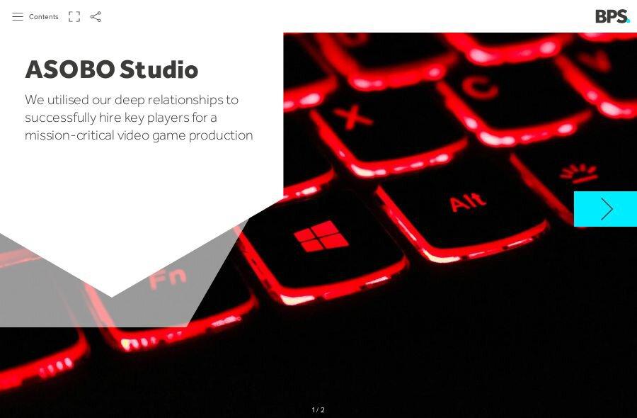 ASOBO Studio Static