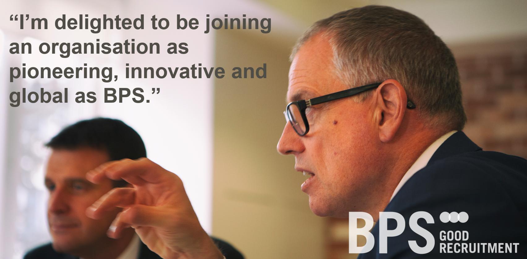 Kevin Green joins BPS World as non-executive director